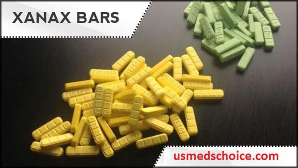 What is the strength of a yellow Xanax bar?